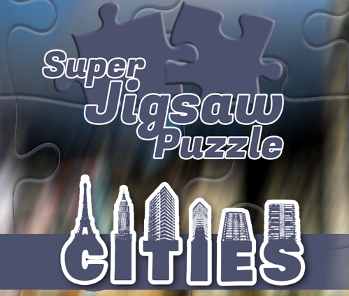 Super Jigsaw Puzzle: Cities