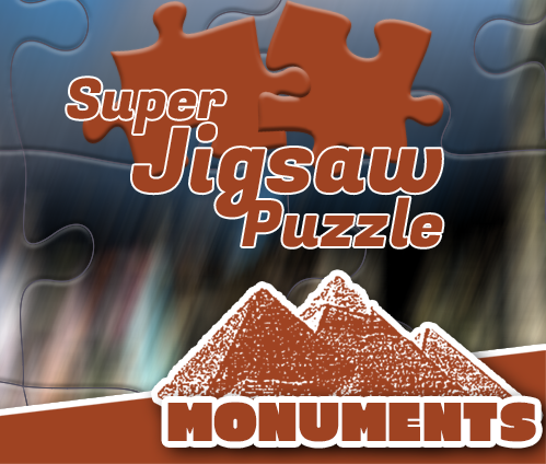 Super Jigsaw Puzzle: Monuments